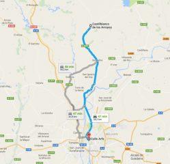 Mapa Sevilla Castilblanco